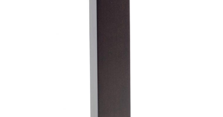 SCAB Design Tafelonderstel Tiffany Natural – Hoogte 73 Cm – Vierkante Voetplaat – Wengé- Geborsteld RVS   8005733515045