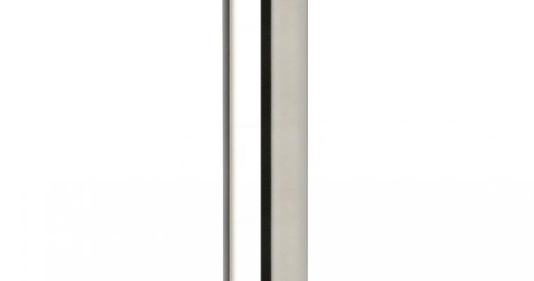 SCAB Tafelonderstel Tiffany – H109 Cm – Ronde Poot – Vierkante Voetplaat – Gepolijst RVS | 8005733518619