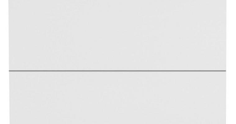 TemaHome Nachtkastje Aurora 2-Laden – 60x44x45 – Mat Wit   5603449310263