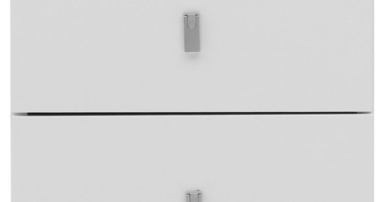TemaHome Pombal 2-Lade Unit – B34 X D34 X H34 Cm – Mat Wit |