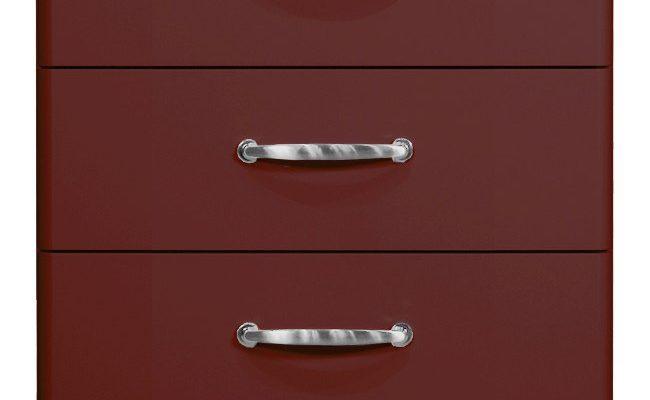 Tenzo LadeKast Malibu 5-Laden – B60 X D41 X H111 – Bordeaux   7394084070862