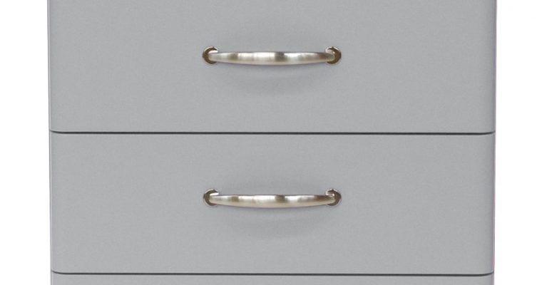 Tenzo Ladekast Malibu 4-Laden – B60 X D41 X H92 – Aluminium | 7394084055470