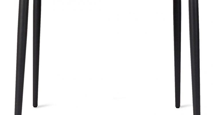 Vincent Sheppard Max Tuintafel – Zwart Onderstel 90 X 90 X H75 Cm – Keramiek Tafelblad   8720195954231