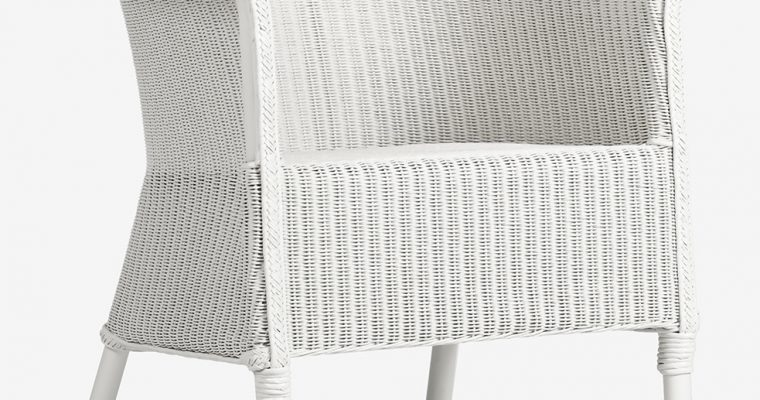 Vincent Sheppard Monte Carlo Dining Chair – Lloyd Loom Tuinstoel – Wit | 8720195953043