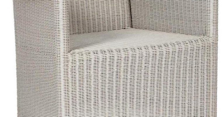 Vincent Sheppard Safi – Wicker Tuinstoel fauteuil – Beige   8720195952770