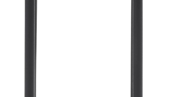 Vincent Sheppard Wicked Outdoor Bijzettafel Zwart Onderstel – H51 XØ37 Cm – Teak Tafelblad   8720195952749