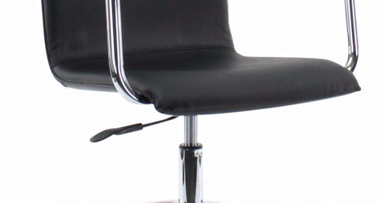 24Designs Bureaustoel&Vergaderstoel Toronto Office – Zwart Leer   8720143242953