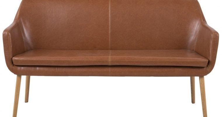 24Designs Eetkamerbank 2-zits Freya – B159 X D56 X H86 Cm – Vintage Cognac | 8719172349993