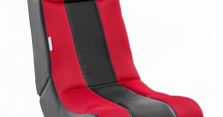 24Designs Max – Racestoel Gamestoel – Bluetooth&Speakers – Zwart / Rood | 8719323478558