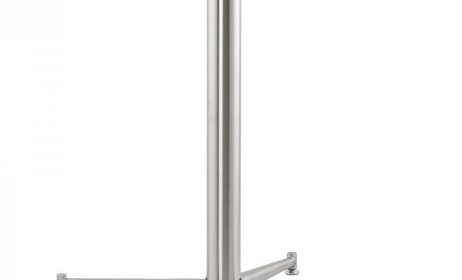 24Designs Tafelonderstel Logan – Hoogte 75 Cm – RVS | 8719874343596