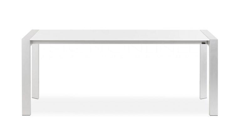 24Designs Uitschuifbare Tafel Paris – 190/270x95x75 – Hoogglans Wit | 8718692423947