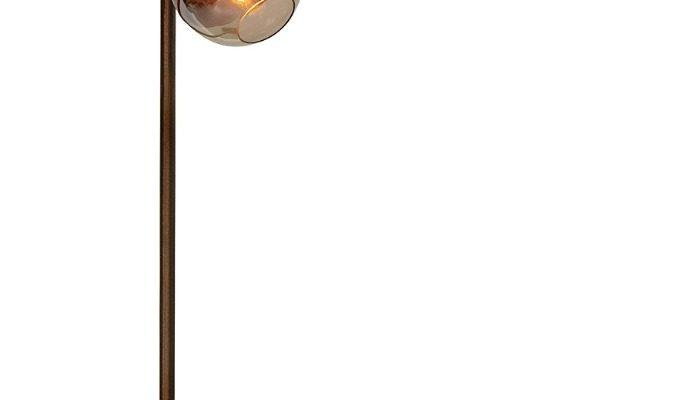 BePureHome Split Vloerlamp 3-Lichts – Hoogte 153 Cm – Metaal Brown Brush | 8714713095278