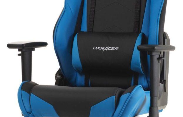 DXRacer Racing-series Game&Bureaustoel – Zwart/Blauw PU   8719323474307