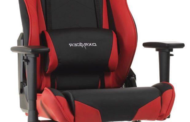 DXRacer Racing-series Game&Bureaustoel – Zwart/Rood PU | 8719172346121