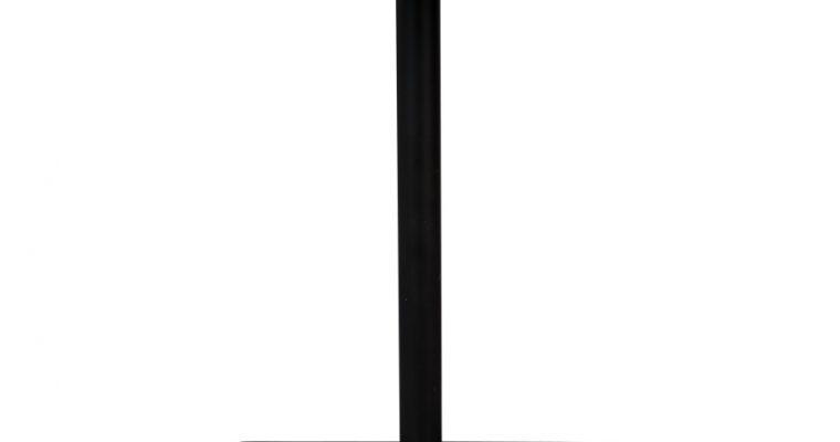 Dutchbone Braza Vierkante Bartafel – L70xB70xH93 Cm – Eiken Houten Tafelblad – Metalen Onderstel | 8718548043916