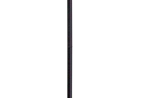 ETH Vloerlamp York – H151 Cm – Zwart – Zilver Staal | 8719075183076