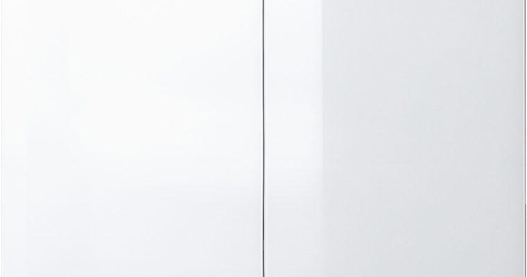Germania Schoenenkast Scalea – L88 X B40 X H120 Cm – Hoogglans – Wit | 4005949376403