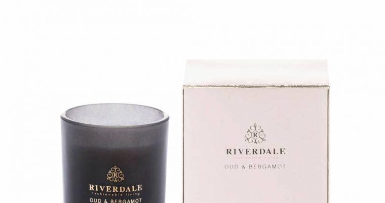 Riverdale Geurkaars Boutique roze Oud & Bergamot 10cm   001984-18   Riverdale
