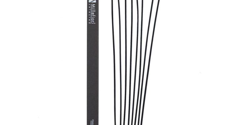 Millefiori Milano Geurstokjes zwart 45cm set van 7   3ST   Millefiori Milano
