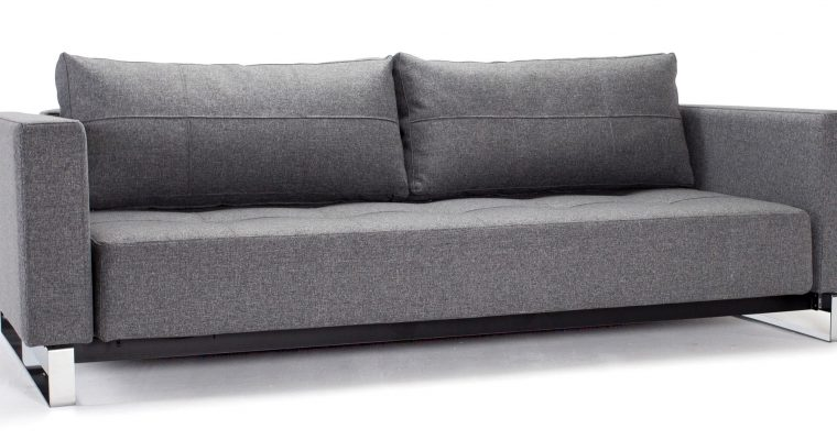 Innovation Slaapbank Cassius Deluxe E.L. – Twist Charcoal 563 | 8720143240645