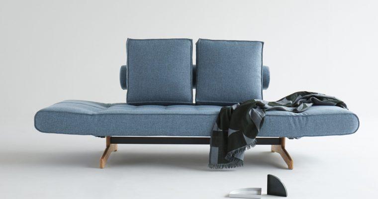 Innovation Slaapbank Ghia Wood – Mixed Dance 525 – Lichtblauw | 8720143240683