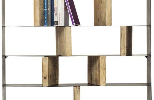 Kare Design Boekenkast Storm – 2 Deurs – 100×234 – Zwart Metaal | 4025621820598