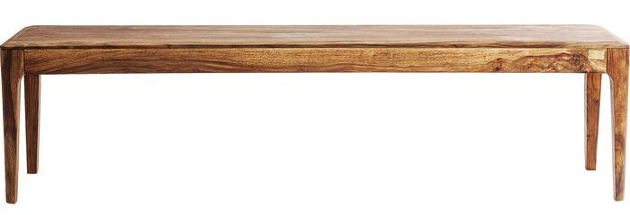 Kare Design Brooklyn Eetbank – B140xD40xH45 Cm – Sheesham Hout – Nature Kleur | 4025621814344