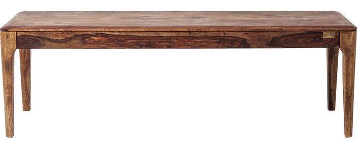 Kare Design Brooklyn Eetbank – B160xD40xH45 Cm – Sheesham Hout – Nature Kleur | 4025621814337