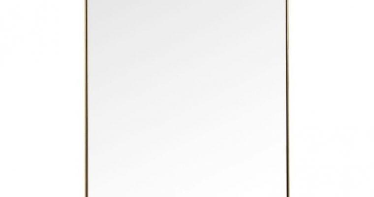 Kare Design Curve Spiegel Rechthoek – B70xH200 Cm – Messing | 4025621827139