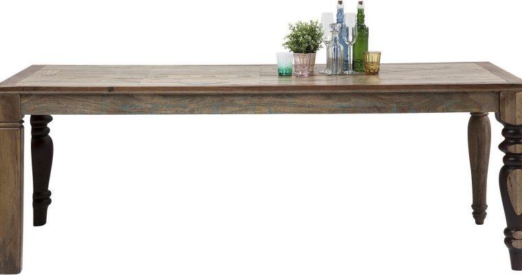 Kare Design Eettafel Duld Range – L220 X B100 X H76 Cm – Hout   4025621792147