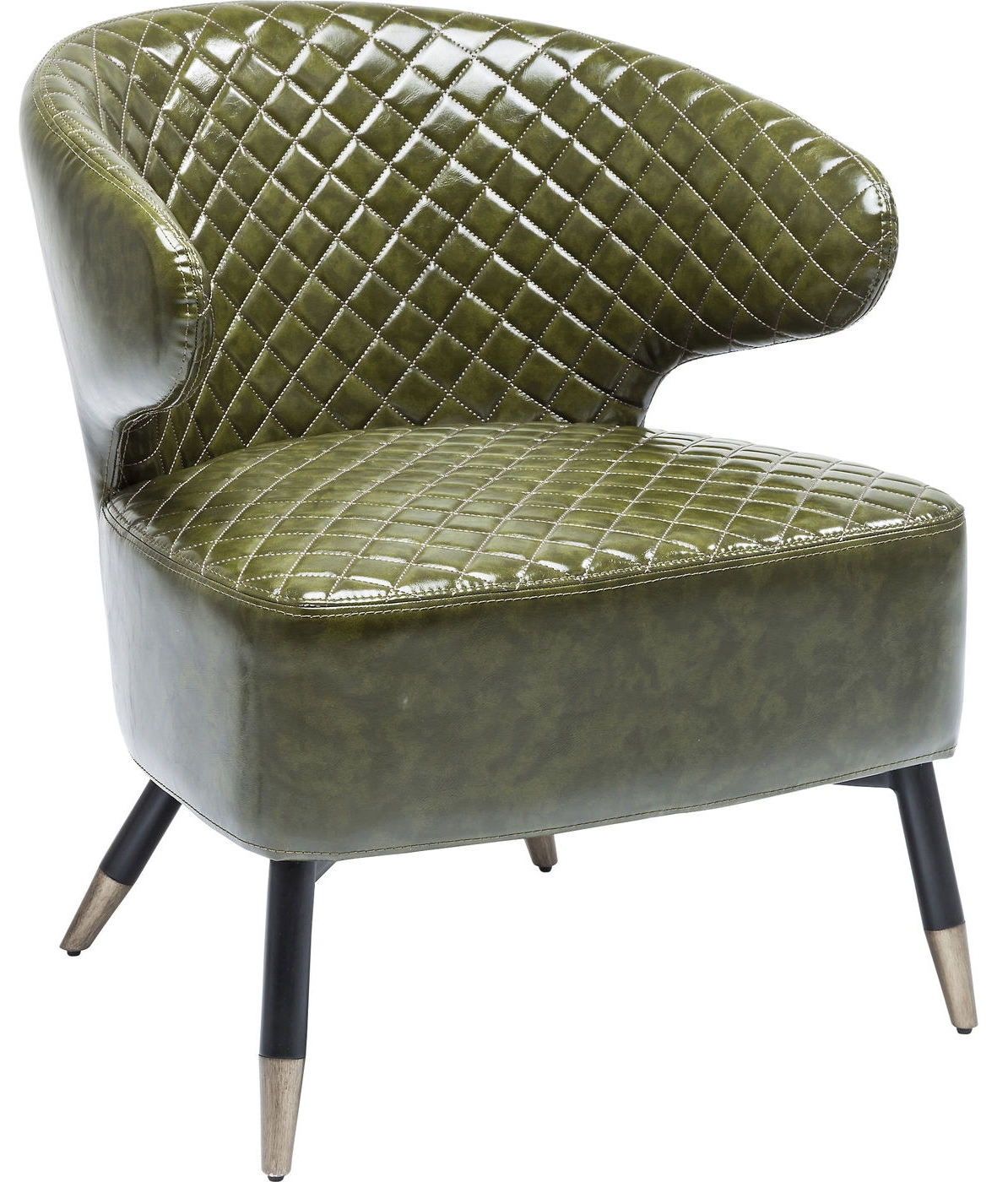 Kare Design Fauteuil Cocktail Chair Session – Groen | 4025621808183