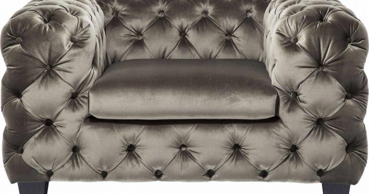 Kare Design Fauteuil My Desire Velvet Khaki – Groen | 4025621796176