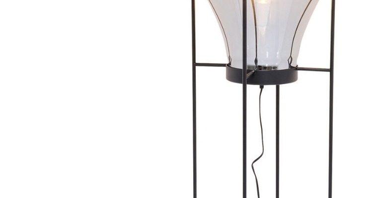 Kare Design Pear Vloerlamp 1-Lichts – Hoogte 158 Cm – Zwart |