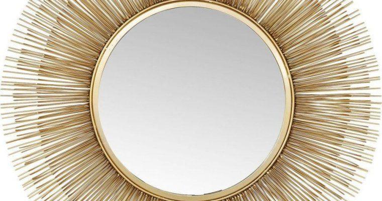 Kare Design Sunburst Spiegel -Ø87cm – Messing | 4025621834755