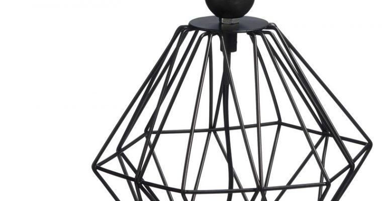 Lampvoet Wire Zwart