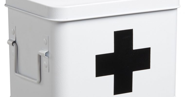 Medicijnbox Wit