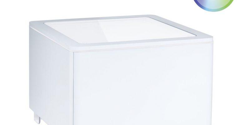 Moree Ora LED Accu Salontafel 60x60x45 – Wit | 4260218361232