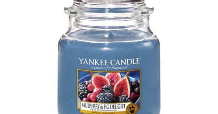 Yankee Candle Mulberry & Fig Delight Medium Jar | 1556246E | Yankee Candle