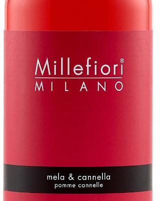 Millefiori Milano Navulling voor geurstokjes 500ml Mela & Cannella | 7REMC | Millefiori Milano