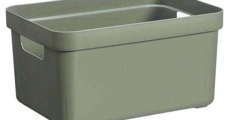 Opbergbox Sigma Donkergroen 5 Liter