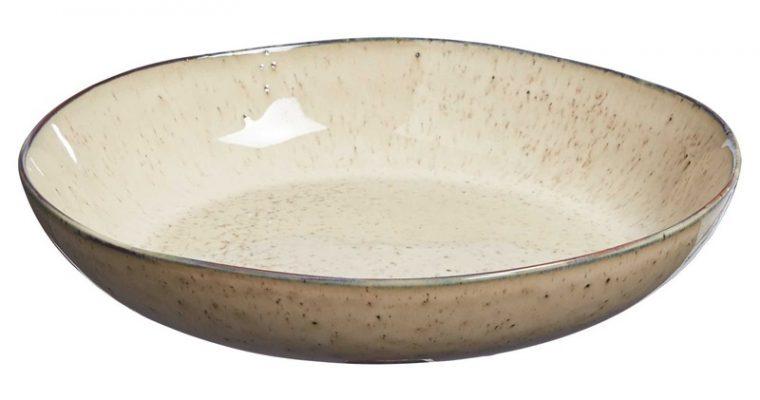 Pasta Bord Glaze Beige