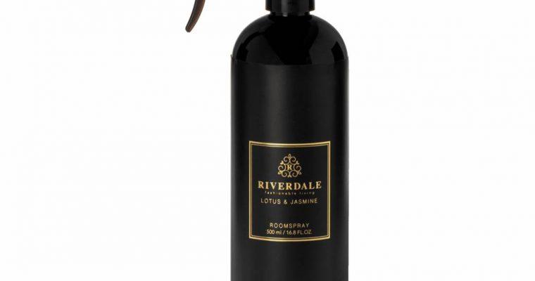 Riverdale Roomspray Elegance zwart 500ml   001997-19   Riverdale