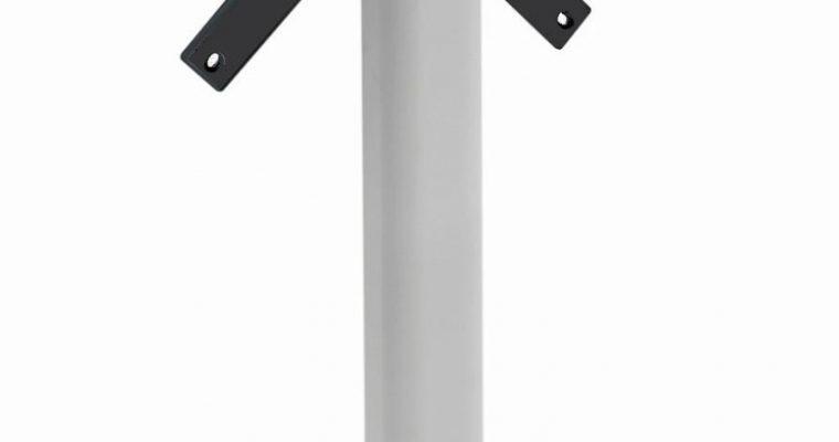 SCAB Klapbaar Tafelonderstel Domino – H73 Cm – Vierkante Kolom – Zilver – Outdoor | 8005733516011