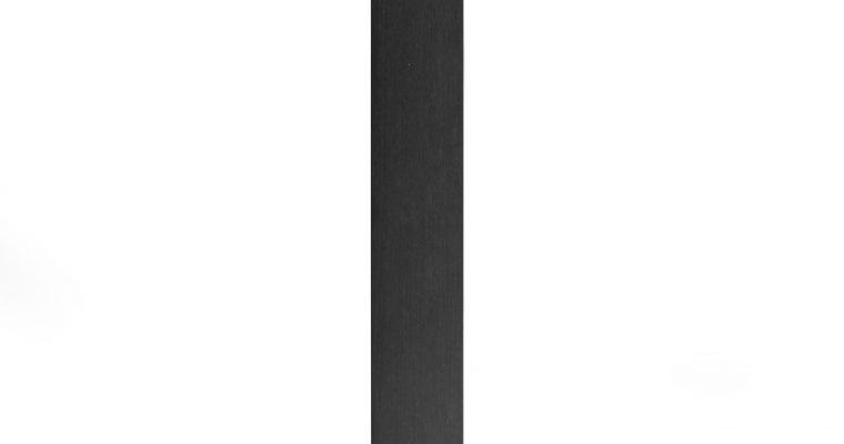 SCAB Tafelonderstel Tiffany – H109 Cm – Rechthoekige Voetplaat – Zwart | 8005733508528