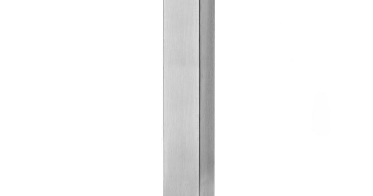 SCAB Tafelonderstel Tiffany – H73 Cm – Rechthoekige Voetplaat – Gepolijst RVS | 8005733508016
