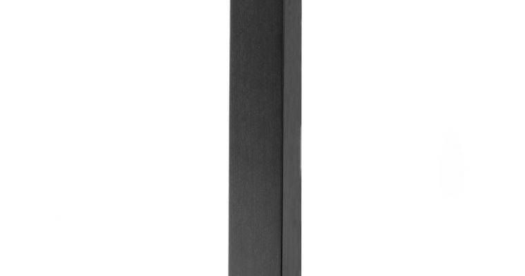 SCAB Tafelonderstel Tiffany – H73 Cm – Rechthoekige Voetplaat – Zwart | 8005733508030