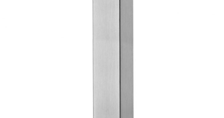 SCAB Tafelonderstel Tiffany – H73 Cm – Vierkante Voetplaat – Mat Geborsteld RVS | 8005733518015