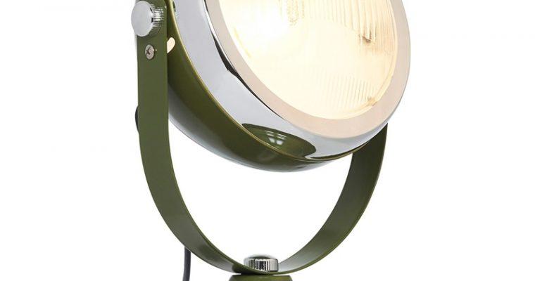 Tafellamp Motor Olijf