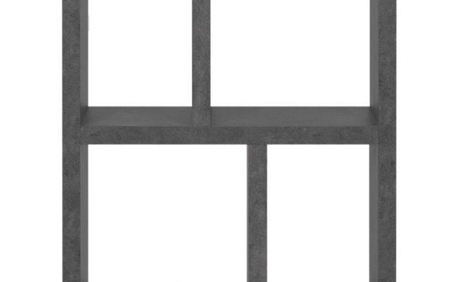 TemaHome Berlin Boekenkast – B70xD34xH159 Cm – Beton Look | 8720143248641