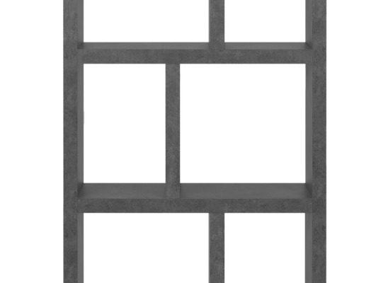 TemaHome Berlin Boekenkast – B70xD34xH198 Cm – Beton Look | 8720143248658